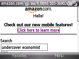 Amazon Mobile Search