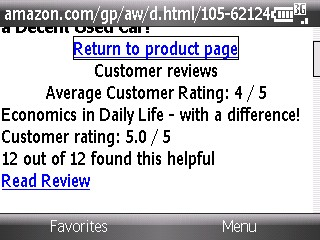 Check the price and rating
