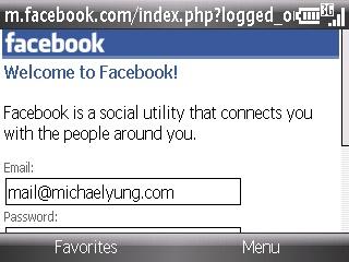 Mobile Facebook