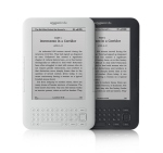 Kindle - graphite and white