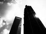 Jin Mao Tower and Shanghai World Financial Center
