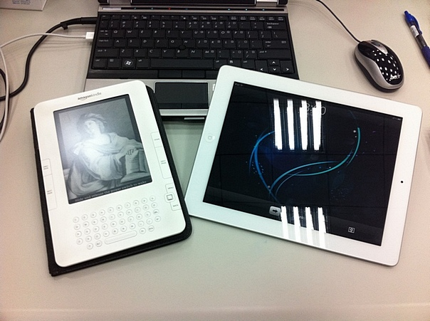 Kindle vs iPad 2